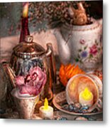 Tea Party - I Would Love To Have Some Tea  Metal Print by Mike Savad