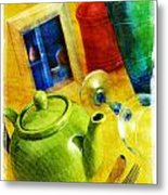 Tea Pot Metal Print