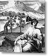 Tea: Treatise, 1687 Metal Print