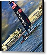 Team Oracle On The Bay Metal Print