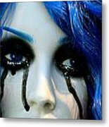 Tears Of My Life Metal Print