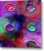 Tears That Fell From Outer Space Metal Print