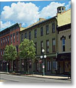 Tecumseh Traffic Light Metal Print