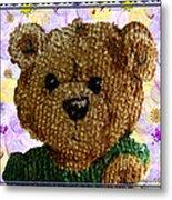 Ted E. Bear Metal Print