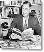 Ted Geisel Dr. Seuss 1904-1991 Seated Metal Print