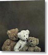 Teddy Bear Family Metal Print
