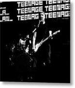 Teenage Wasteland Metal Print