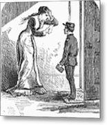Telegram: Death, 1879 Metal Print