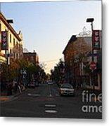 Telegraph Avenue At Bancroft Way In Berkeley California  . 7d10174 Metal Print