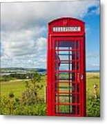 Telephone Anyone Metal Print