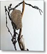 Tell Me About It Metal Print