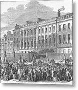 Temperance Rally, 1853 Metal Print