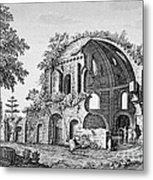 Tempio Di Minerva Medica In Roma, 18th Metal Print by Photo Researchers