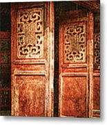Temple Door Metal Print