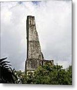 Temple Iv Roofcomb Tikal Guatemala Metal Print