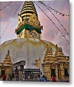 Temple Metal Print