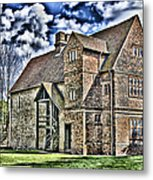 Temple Manor Metal Print