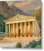 Temple Of Diana Metal Print