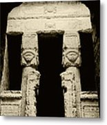 Temple Of Hathor Metal Print