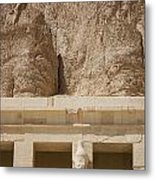 Temple Of Hatshepsut Metal Print