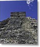Temple Of Kukulkan Three Metal Print