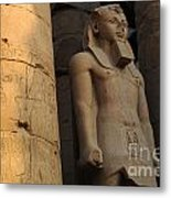 Temple Of Luxor  Egypt Metal Print
