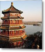 Temple Of The Fragrant Buddha Metal Print
