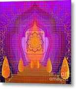Temple Of The Inner Flame 2012 Metal Print