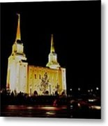 Temple Of The Later Day Saints Metal Print