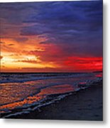 Ten Minutes On The Beach  Metal Print