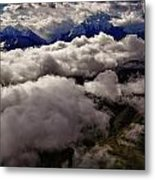 Ten Thousand Feet Over Denali Metal Print