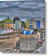Tenby Harbour In Summer 2 Metal Print