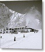 Tengboche Monastery In The Himalayas Metal Print