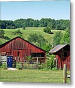 Tennessee Barn 4 Metal Print