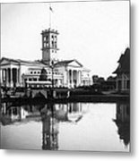 Tennessee Centennial - Nashville - Auditorium - C 1897 Metal Print by International  Images