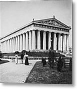 Tennessee Centennial In Nashville - The Parthenon - C 1897 Metal Print