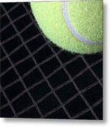 Tennis Anyone Metal Print by John Van Decker