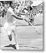 Tennis Champion Jack Kramer, Playing Metal Print