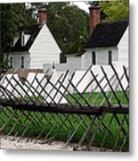 Tenting On The Green Metal Print