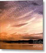 Tequila Sunrise Metal Print
