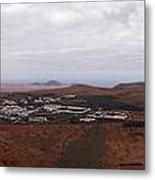 Tequise From Guanapay Castle  Metal Print
