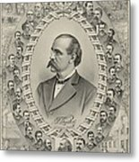 Terence Vincent Powderly 1849-1924 Metal Print