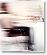 Terminal Speed Metal Print