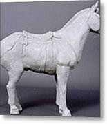 Terracotta Warrior's Horse Metal Print