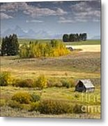 Teton Valley Metal Print