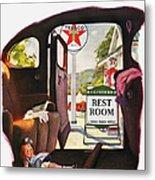 Texaco Advertisement, 1938 Metal Print