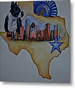 Texas Bound 3 Metal Print