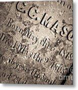 Tcm - C.c. Mason Grave Metal Print