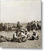 Texas: Cowboys, C1906 Metal Print