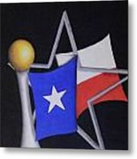 Texas Metal Print by Jose Benavides